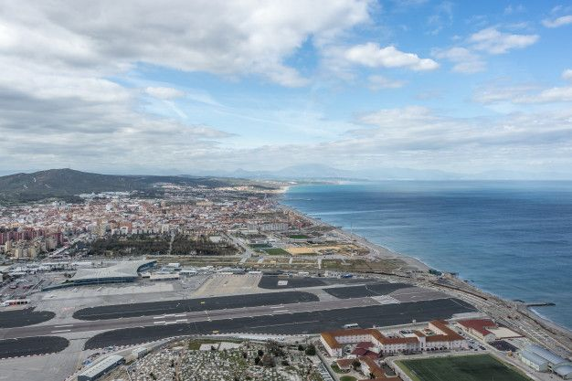 View of Gibraltar airport